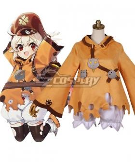 Kids Size Genshin Impact Klee Halloween Cosplay Costume
