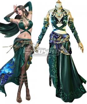 Naraka Bladepoint Matari Flawless Elegance Exclusive Outfit Cosplay Costume
