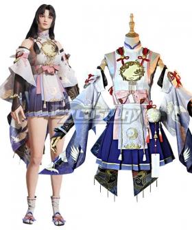 Naraka Bladepoint Kurumi Wings of Aosagibi Cosplay Costume