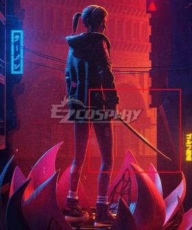 Blade Runner: Black Lotus Elle Sword Cosplay Weapon Prop