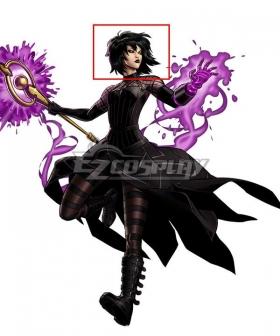 Marvel Comic Nico Minoru Black Cosplay Wig