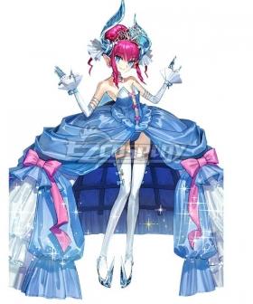 Fate Grand Order FGO Elisabeth Bathory Cinderella Cosplay Costume