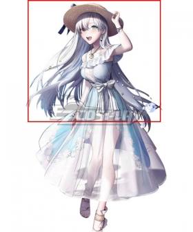 Fate Grand Order FGO Anastasia&Viy Stage 1 Silver White Cosplay Wig