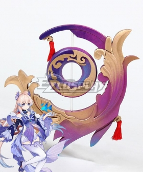 Genshin Impact Kokomi Everlasting Moonglow Cosplay Weapon Prop