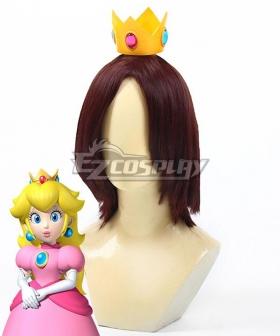 Super Mario Bros Princess Peach Crown Cosplay Accessory Prop