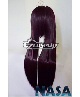 Tales of Vesperia Yuri Lowell Dark Purple Cosplay Wig