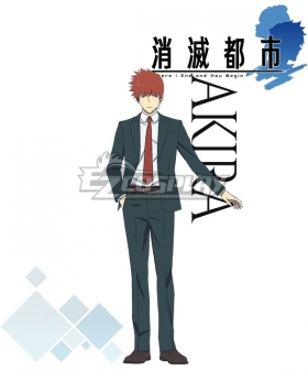 Annihilated City Shoumetsu Toshi Akira Cosplay Costume