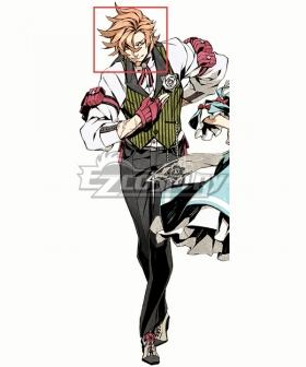 7th Dragon III Code: VFD God Hand Orange Cosplay Wig