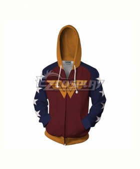 DC Comics Wonder Woman Diana Prince Coat Hoodie Cosplay Costume