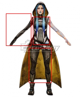 Borderlands 3 Maya Cosplay Costume Only Top Pants Armguard