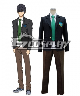 Free! Haruka Nanase school uniform Cosplay Costume