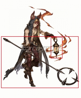 Granblue Fantasy Elmott Light And Weapon Cosplay Weapon Prop