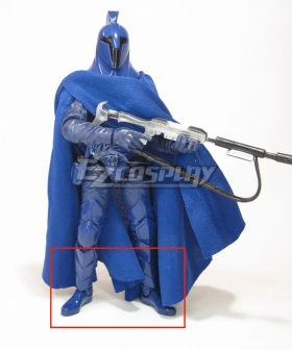 Star Wars republic senate guard Blue Shoes Cosplay Boots