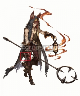 Granblue Fantasy Elmott Flagon Cosplay Accessory Prop