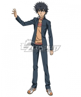 A Certain Magical Index Toaru Majutsu No Index Kamijou Touma Cosplay Costume