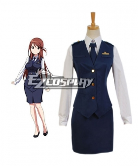 RAIL WARS! Nana Iida Uniform Cosplay Costume