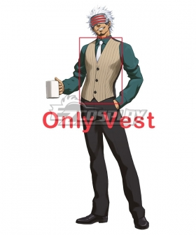 Ace Attorney Season 2 Godot Cosplay Costume - Only Vest