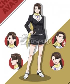 Ace Attorney Season 2 Mia Fey Cosplay Costume
