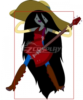 Adventure Time Marceline Black Cosplay Wig