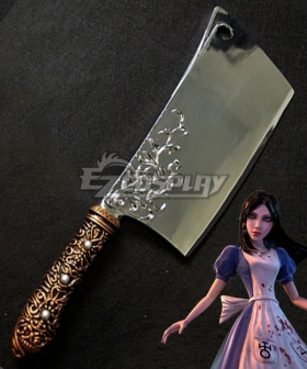 Alice: Madness Returns Alice Kitchen Knife Cosplay Weapon Prop
