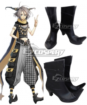 AMNESIA Orion Black Cosplay Shoes