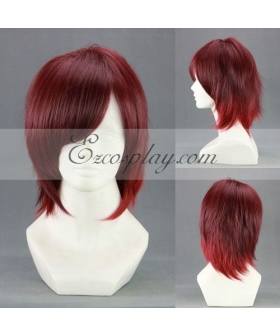 AMNESIA Shin Red Cosplay Wig-266AB