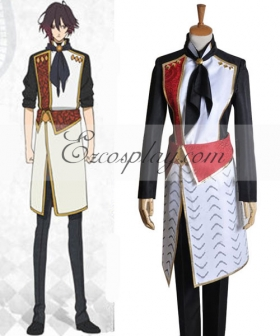AMNESIA Shin Working Uniform Cosplay Costume