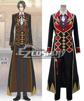 AMNESIA Waka Working Uniform Cosplay Costume