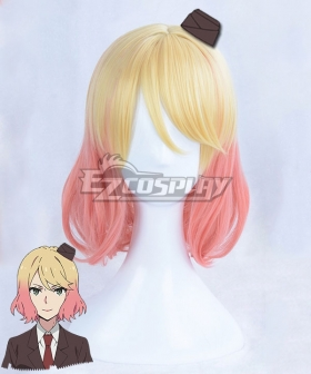 Angels Of Death Satsuriku No Tenshi Cathy Catherine Ward Golden Pink New Edition Cosplay Wig