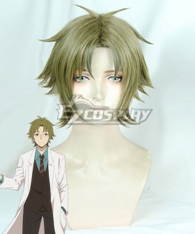 Angels Of Death Satsuriku No Tenshi Danny Daniel Dickens Green Cosplay Wig
