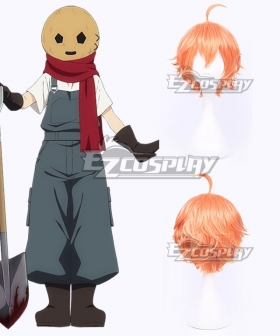Angels Of Death Satsuriku No Tenshi Eddie Edward Mason Orange Cosplay Wig