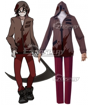 Angels of Death Satsuriku no Tenshi Zack Game Cosplay Costume