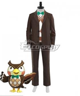 Animal Crossing: New Horizon Blathers Cosplay Costume