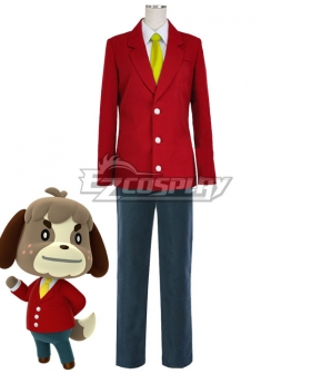 Animal Crossing: New Horizons Digby Cosplay Costume