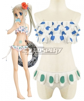 Anohana: The Flower We Saw That Day Honma Meiko Swimsuit Cosplay Costume