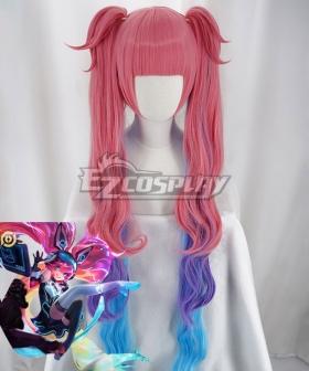 Arena Of Valor Honor of Kings Angela MindHacker Pink Cosplay Wig