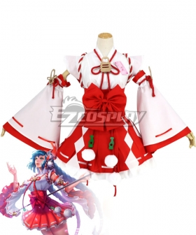 Arena Of Valor Honor of Kings Da Qiao Ise Miko Cosplay Costume