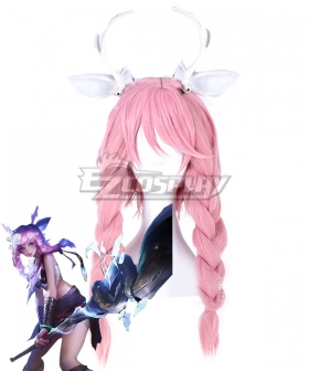 Arena Of Valor Honor of Kings Yao Pink Cosplay Wig