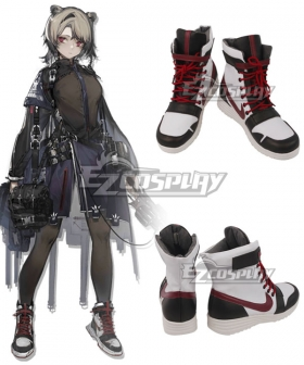 Arknights Absinthe White Cosplay Shoes