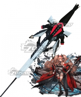Arknights Angelina Vsitor of Factor Staff Cosplay Weapon Prop
