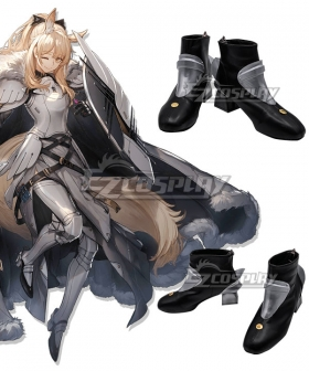 Arknights Blemishine White Shoes Cosplay Boots
