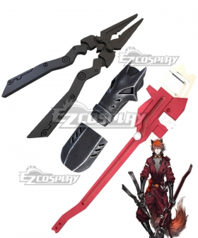 Arknights Chiave Wrench Pliers Cosplay Weapon Prop