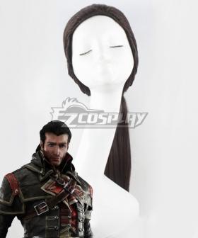 Assassin's Creed: Rogue Shay Patrick Cormac Black Cosplay Wig