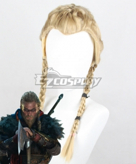 Assassin's Creed Valhalla Eivor Golden Cosplay Wig