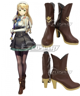 Atelier Ryza: Ever Darkness & the Secret Hideout Klaudia Valentz Black Cosplay Shoes