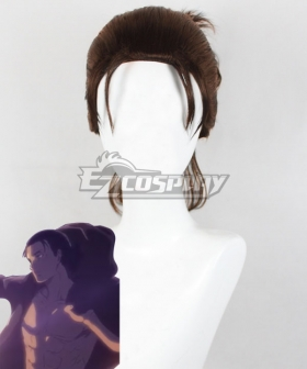 Attack On Titan Eren Yeager 19 Years Old Brown Cosplay Wig