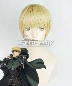 Attack On Titan Shingeki No Kyojin Final Season Armin Arlert Golden Cosplay Wig