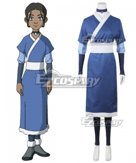 Avatar: The Last Airbender Katara New Edition Cosplay Costume