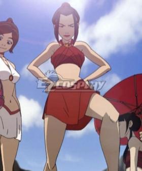 Avatar: The Last Airbender Azula Bathing Cloth Cosplay Costume