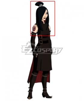 Avatar: The Last Airbender June Black Cosplay Wig
